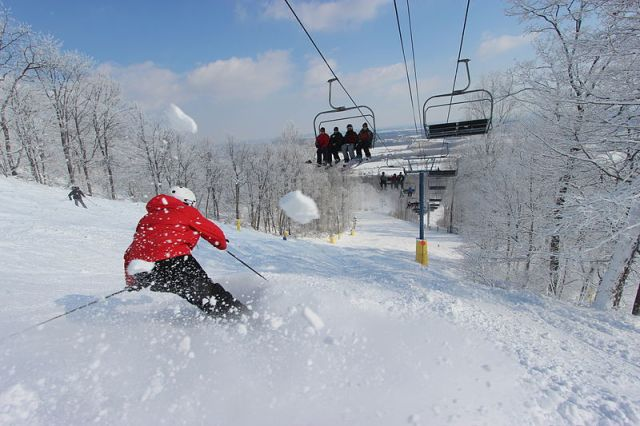 liberty mountain resort skiing