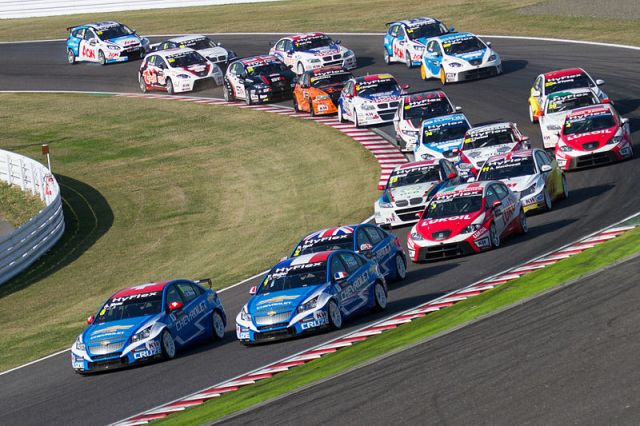 World Touring Car Championship 2012 Race of Japan: Opening lap of Race 1