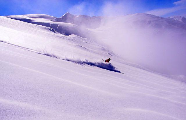 Lone Skier