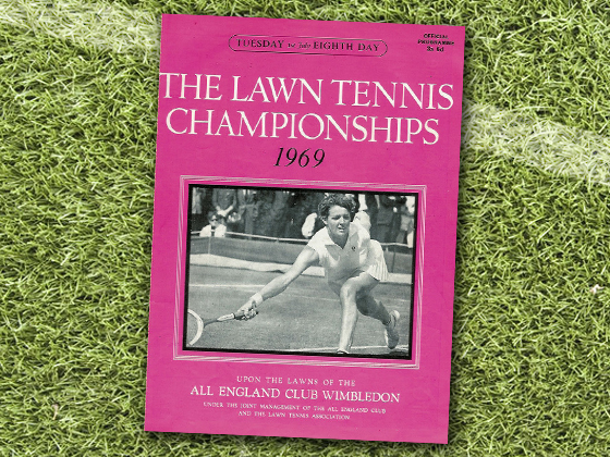 1969 Wimbledon Program