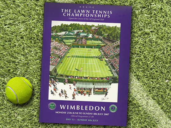 2007 Wimbledon Program