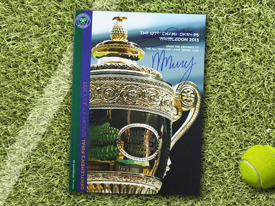 2013 Wimbledon Program