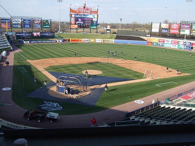 An International League Ballpark