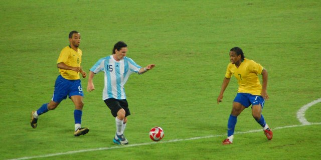 messi olympics soccer