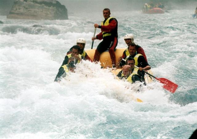 The Sports Archives Blog - The Sports Archives - Tired Of Skiing? Try White Water Winter Rafting!
