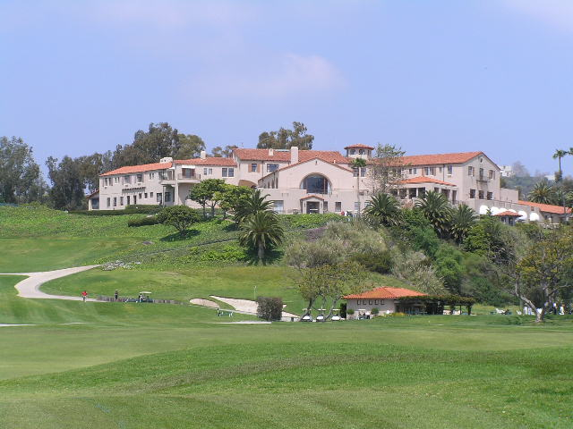 Riviera country club golf course