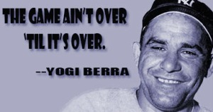 The Sports Archives Blog >> Search Results  >>   - The Sports Archives  Yogi Berra: Passing into Legend