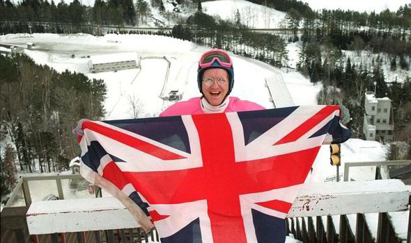 The Sports Archives Blog - The Sports Archives  Eddie the Eagle and Ski-jumping