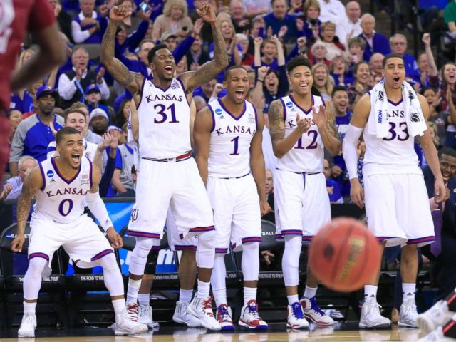 The Sports Archives Blog - The Sports Archives - Kansas is No. 1 for a Second Time this Season; the First School to Reach the Top for a Second Stint