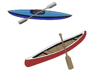 The Sports Archives Blog - The Sports Archives  Canoeing vs. Kayaking