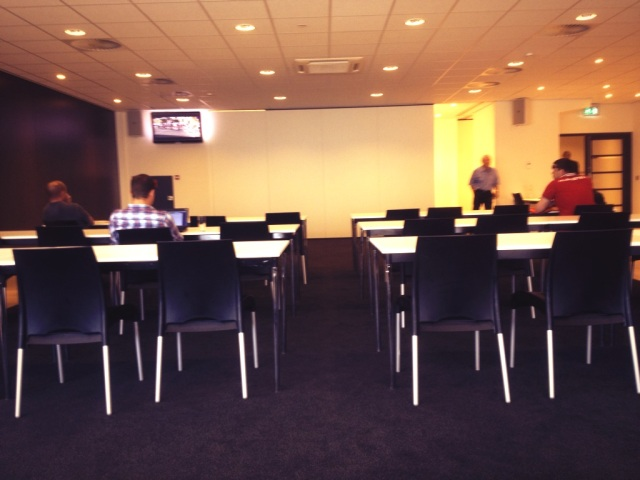 Press Room at the Philips Stadion
