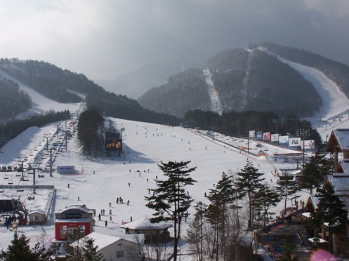 The Yongpyong Dragon Valley ski resort will be at the center of 2018 PyeongChang Winter Games.