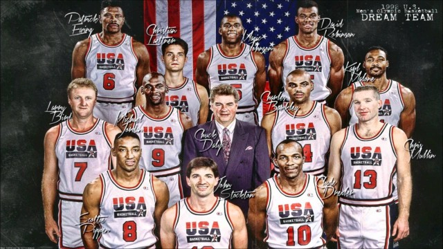 The Sports Archives Blog - The Sports Archives - 1992 U.S. Mens Olympic Basketball Team: The Dream Team