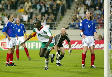 The Sports Archives Blog - The Sports Archives - Senegal Beats France in the 2002 World Cup