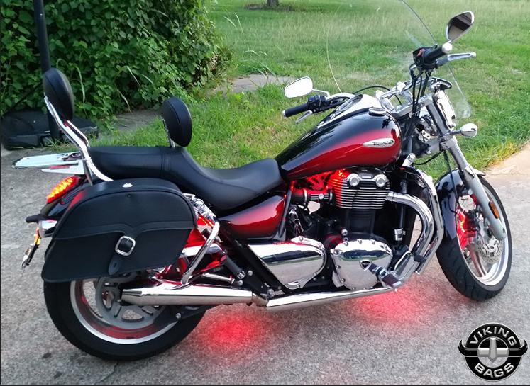 motorcycle saddlebag